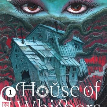House of Whispers #1 cover by Sean Andrew Murray