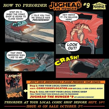 Could You Die Because You Didnt Pre-Order a Comic Book Jughead: The Hunger #9