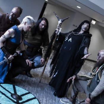 A Raid of Vikings Invade During Dragon Con 2018