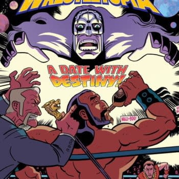 Invasion From Planet Wrestletopia Jobs to Starburns Industries Press at Rose City Comic-Con