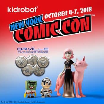 Kidrobot Brings Spongebob Astra + Orbit Mega Man and Orville Exclusives to NYCC