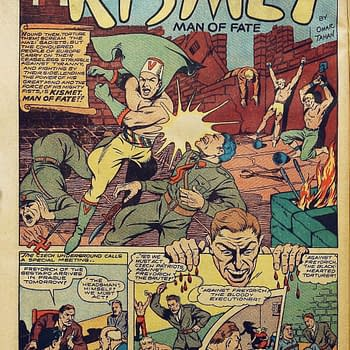 First Muslim Superhero Kismet Man of Fate Returns Immediately Punches Nazi