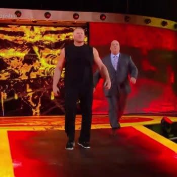 Armed With Powerful New Beard, Brock Lesnar Ruins Hell in a Cell Main Event