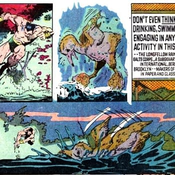 Marvel Comics Presents: The Time Namor Got Political About Pollution in 1989