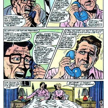 Marvel Comics Presents: The Time Marvel Mocked a Beloved Republican President in 1990