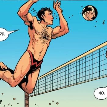 Move Over Tom Cruise and Val Kilmer, Multiple Man #4 Sets the New Standard for Sexy Volleyball
