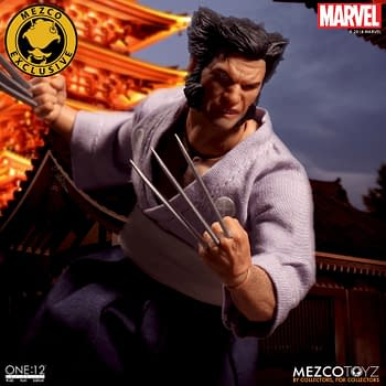 Ronin Wolverine Coming to NYCC From Mezcos One:12 Collective