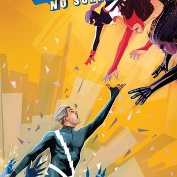Quicksilver: No Surrender #5 cover by Martin Simmonds