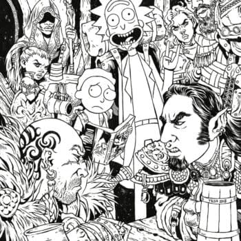 IDW Brings Exclusive Rick and Morty vs. Dungeons & Dragons Variant by Tess Fowler to LBCC
