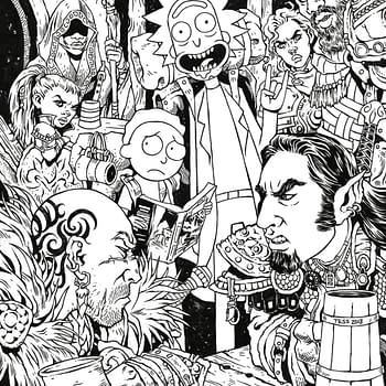 IDW Brings Exclusive Rick and Morty vs. Dungeons &#038 Dragons Variant by Tess Fowler to LBCC