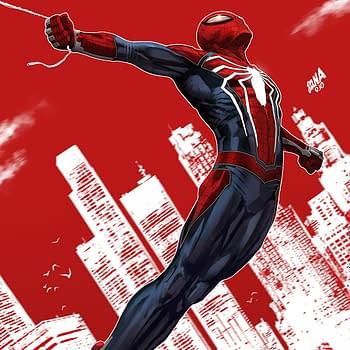 David Nakayama Draws PS4 Spider-Man for Spider-Geddon #1 Variant