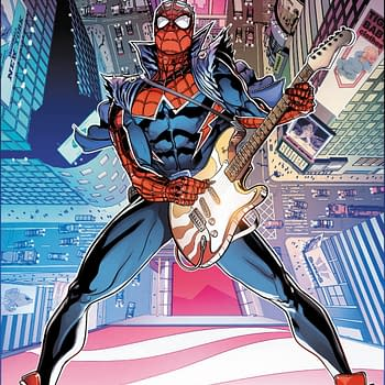 Will Sliney Spider-Draws Spider-Punk for Spider-Geddon #1