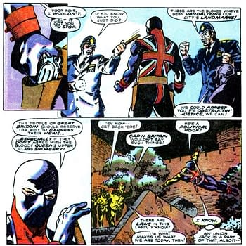 Marvel Comics Presents: The Time Union Jack Resisted Thatchers England in 1990