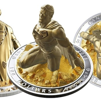 Check Out Jason Faboks $100 3D Superman Coin for the Royal Canadian Mint