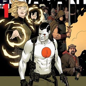 A Top Secret Comic Book Project from Jeff Lemire and Matt Kindt