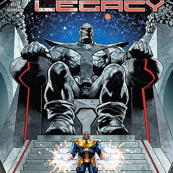 Thanos Legacy #1 Review: Half of a Great Comic