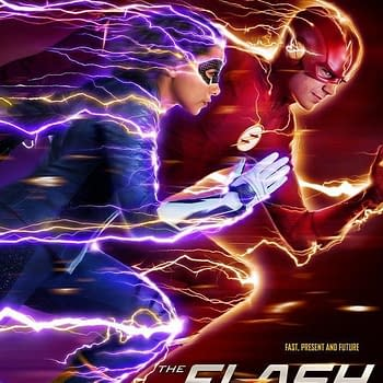 Flash Season 5 Poster Shows Nora Racing Barry in Costume