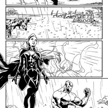 Here's Another Page of Mahmud Asrar's Art for Uncanny X-Men