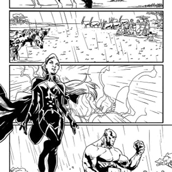 Heres Another Page of Mahmud Asrars Art for Uncanny X-Men