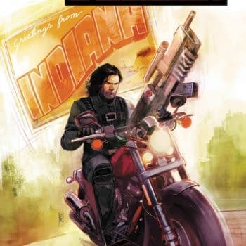 A New Winter Soldier Comic Launches in December by Kyle Higgins and Rod Reis