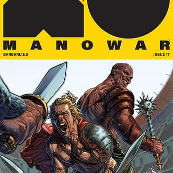 X-O Manowar #17 [Late] Review: Historical Fiction Interrupting the Sci-Fi