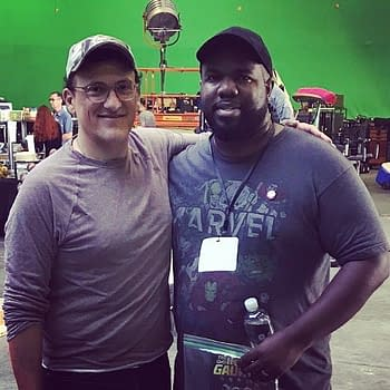 The Russo Brothers Share a Behind-the-Scenes Picture from Avengers 4