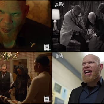 Black Lightning: Jones on Tobias Influence and THAT Briefcase Adams Reveals Favorite Scene