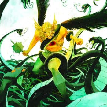 Venditti Confirms Kryptonian Hawkman for Hawkman #8