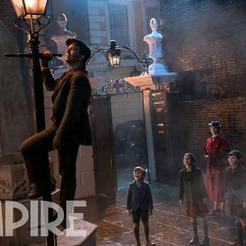 New Photo of Lin-Manuel Miranda in Mary Poppins Returns