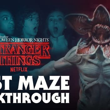 Cast of Stranger Things Does Halloween Horror Nights Maze