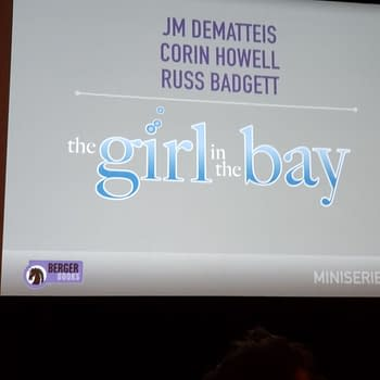 JM De Matteis and Corin Howells The Girl In The Bay for Dark Horse/Berger Books For 2019