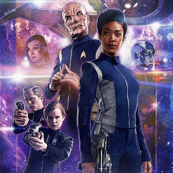 Captain Sarus Star Trek Discovery Comic Coming in February