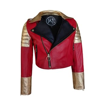 Check Out This Dora Milaje-Inspired Moto Jacket from Karol B