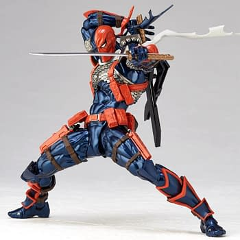 Deathstroke Revoltech Figure Hits Stores in Early 2019