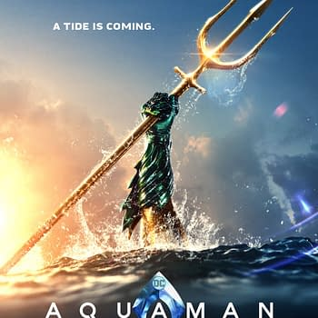 Aquaman Gets a New Poster Revealed by James Wan Teases Something Coming Tomorrow