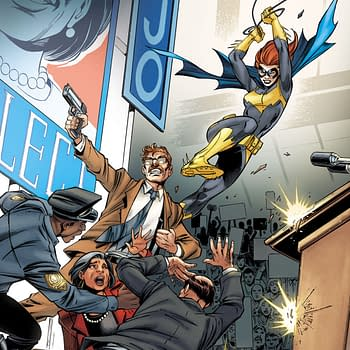 DC is Putting Politics in Your Batgirl Comics in January&#8230 Literally