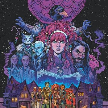 B. Dave Walters and Tess Fowler Launch a Dungeons &#038 Dragons Campaign at IDW in February