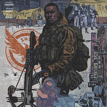 Dark Horse Launches Tom Clancys The Division Comic in January