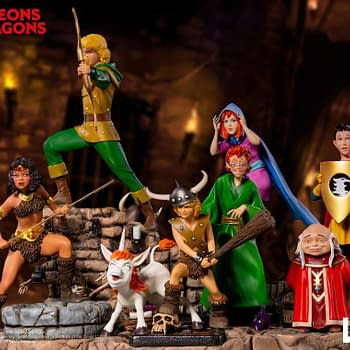 Dungeons and Dragons Cartoon Statues From Iron Studios Coming 2019
