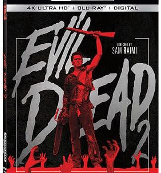 Evil Dead 2 Comes to 4K Ultra HD Blu-ray in December