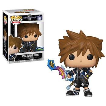 Funko Kingdom Hearts Sora Drive Form Pop