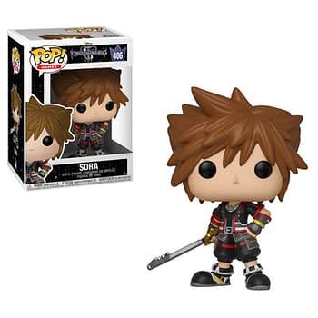Funko Kingdom Hearts Sora Pop