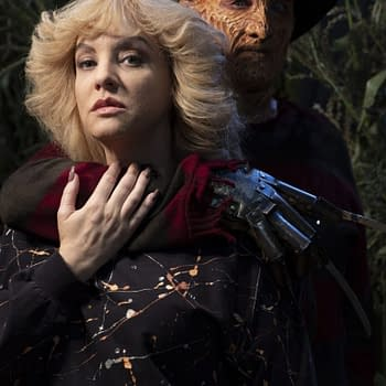 Robert Englund Scares Up Laughs One Last Time As Freddy in New Goldbergs Pics
