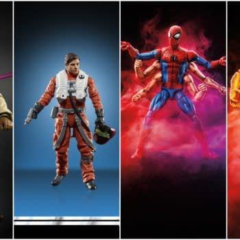 Hasbro Reveals Marvel Legends, Star Wars Figures at Lucca Comics and Games