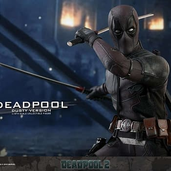 Deadpool Dusty Edition Hot Toys Figure Coming Late 2019