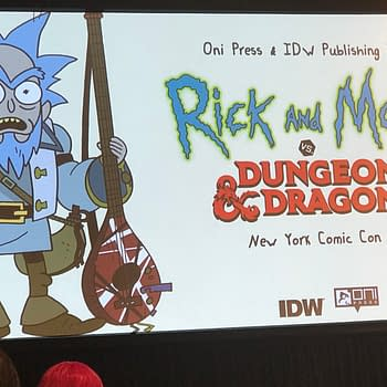 Rick and Morty Vs Dungeons &#038 Dragons: The Story of How it Came to be at NYCC