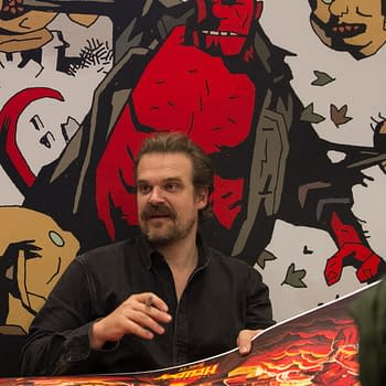 David Harbour Shares Heartfelt Mike Mignola Thoughts from Hellboy Premiere