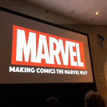 Jason Aaron Ed McGuinness Humberto Ramos and CB Cebulski Explain How Marvel Make Comics at NYCC 2018