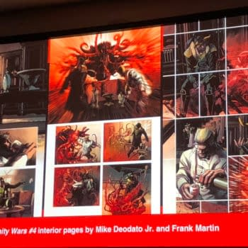 From NYCC – Advance Artwork From Infinity Wars, Justice League, Iron Man, Thor and Detective Comics