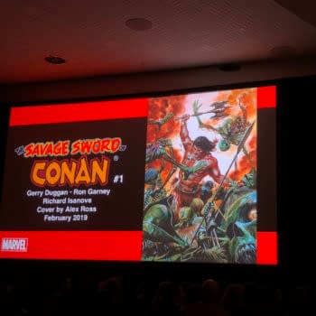 Marvel to Launch Savage Sword Of Conan by Gerry Duggan and Ron Garney in February